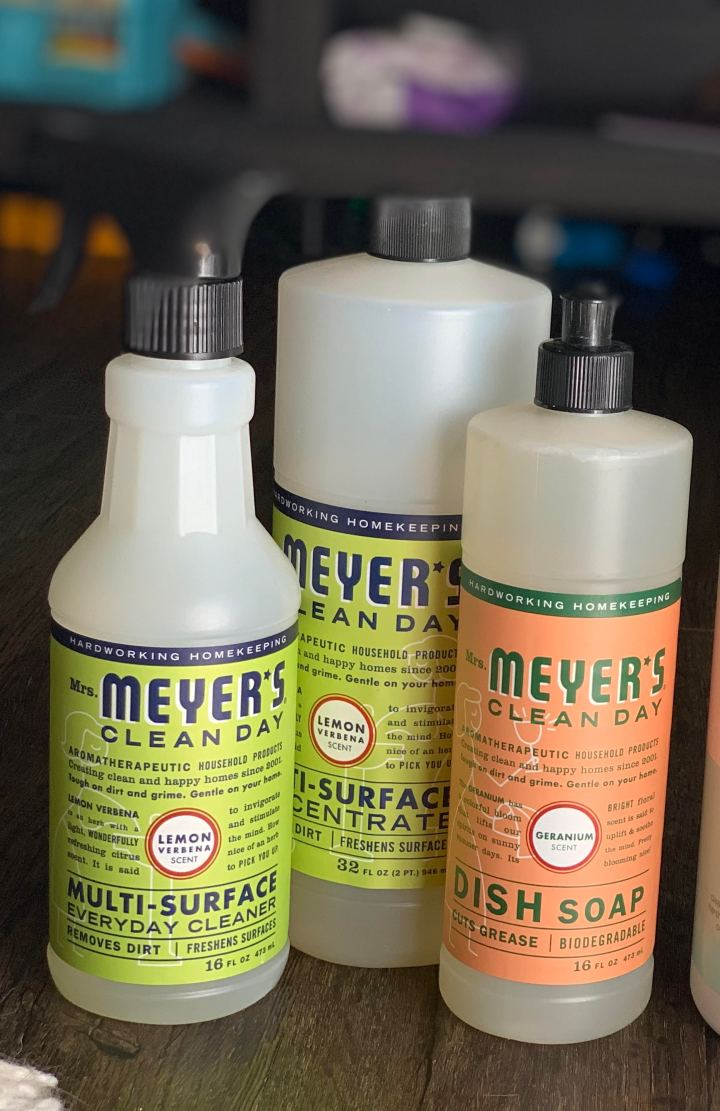 Why I use non-toxic cleaners